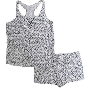 NWT Calvin Klein Tank Top Short Pajama Set Small